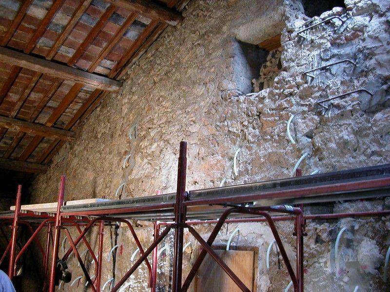 chiesa parrocchiale di Sant'Ambrogio volte restauro