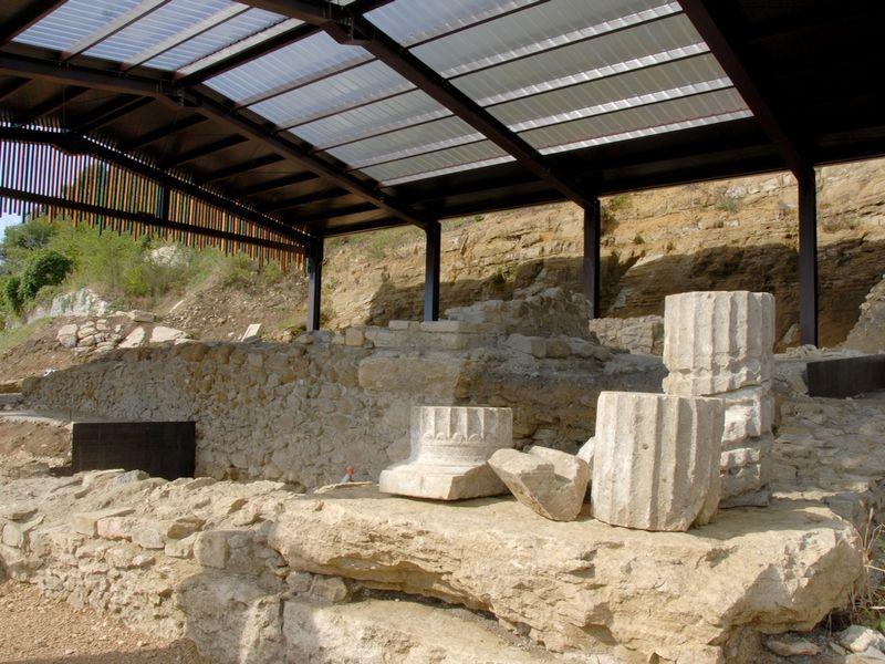 """Area archeologica """"Tempio di Minerva"""""""